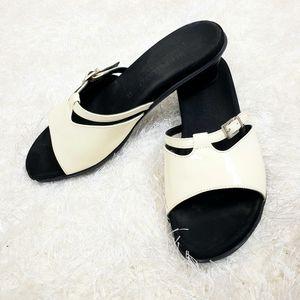 Mephisto glazed slipper shoes